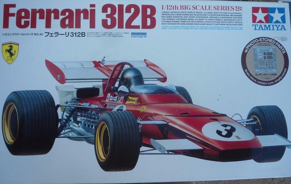 RARE Tamiya 1 12 Big Scale Series No 48 Ferrari 312 Photo Etch 1 12 High