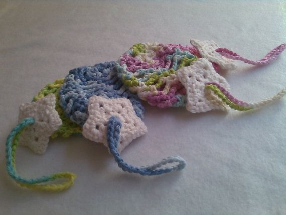 Crochet Soap Bags by CraftyQueens2 on Etsy, $3.00