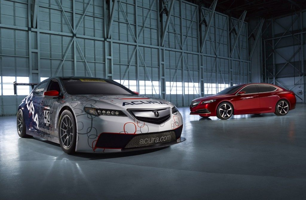 2014 Acura TLX GT race car