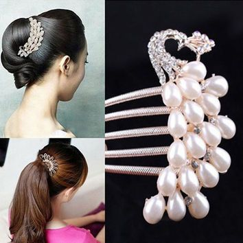 Best Crystal Hair Jewelry Products on Wanelo