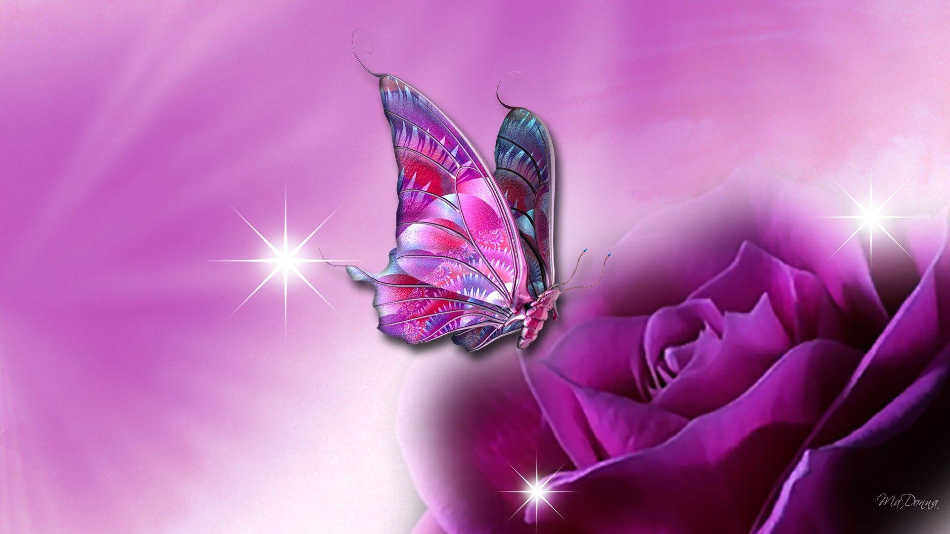 3d Wallpapers 3d Butterfly Wallpaper For Desktop Butterfly Wallpaper Purple Butterfly Beautiful Butterflies
