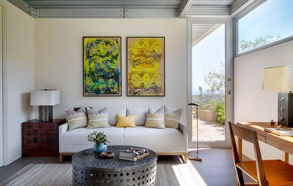 zick zack muster dekokissen ideen wohnzimmer Dekoration