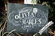 Custom chalk!