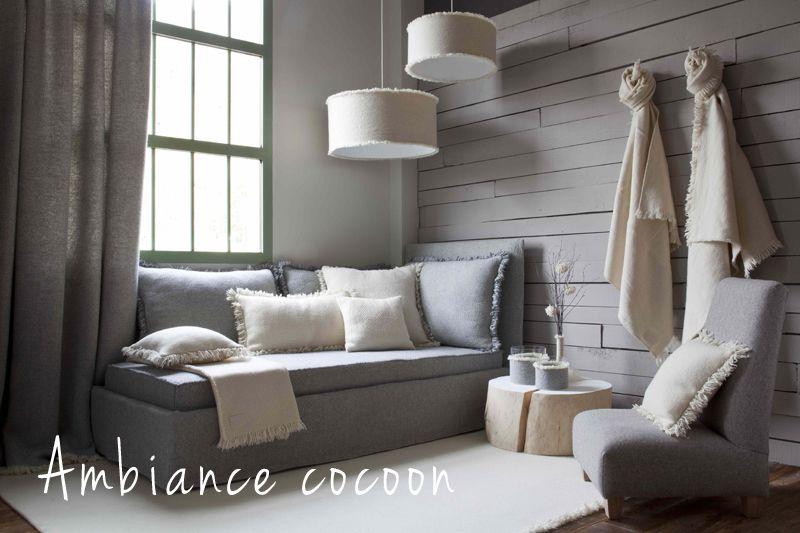 ambiance calme et chaleureuse d coration d coration maison id e d co salon chaleureux et. Black Bedroom Furniture Sets. Home Design Ideas