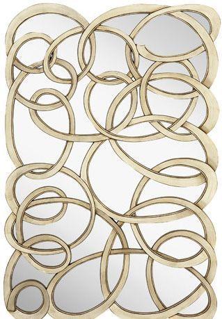 mcgehee contemporary decorative mirror - Decorative Mirror