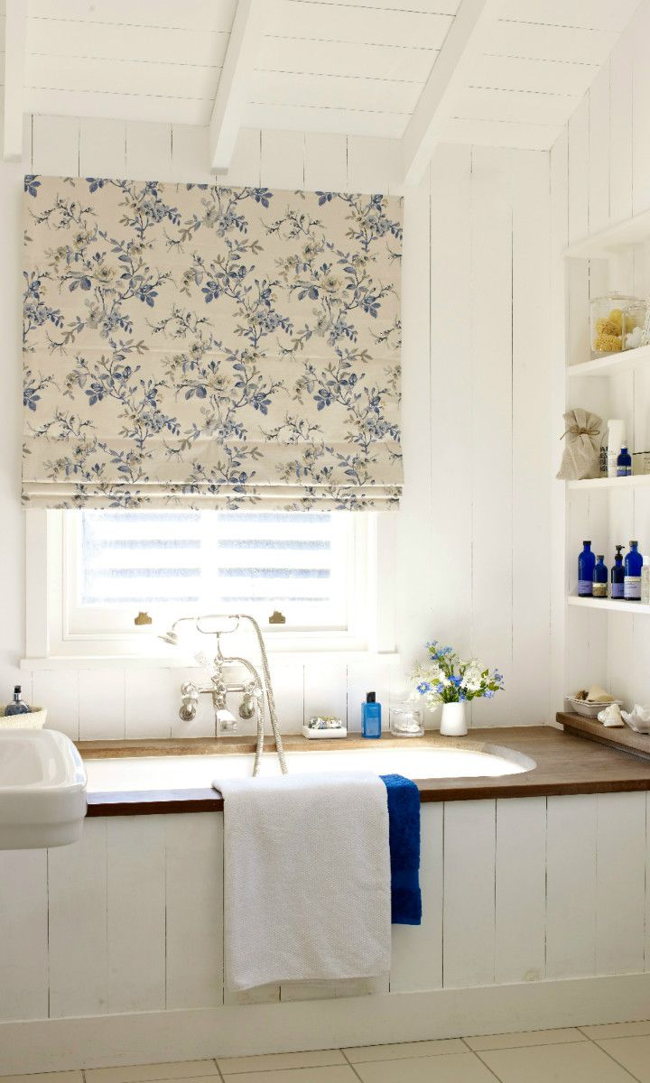 Brighten up a white room with a touch of subtle colour using floral ...