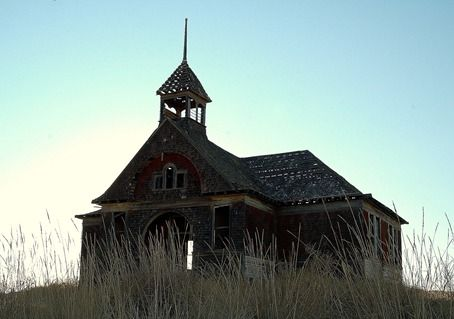 Ghost town of Govan located in Lincoln County Washington