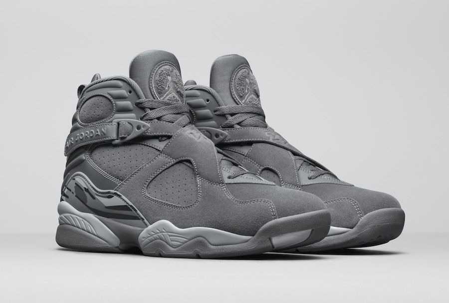 huge selection of a2774 94565 Air Jordan 8 Cool Grey Release Date 305381-014 | The Fresh ...