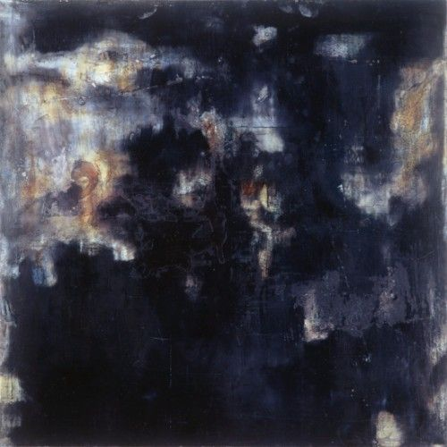 Dark Blue Painting
