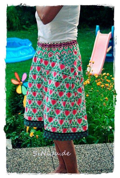 Schnittmuster: Damenrock VALESKA   Nähen   Pinterest   Röcke damen ...