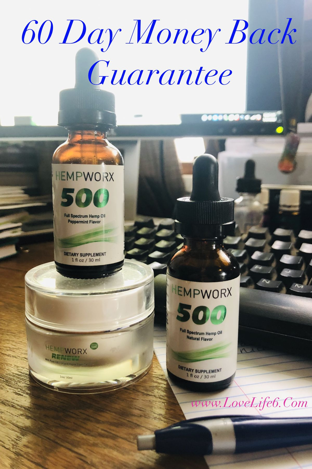Would you try my CBD if it came with a 60 Day Money Back