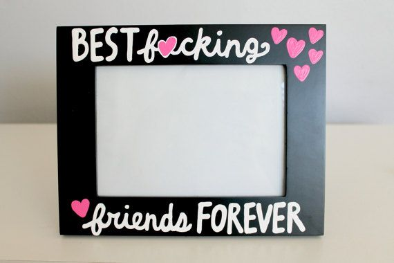 Gift for best friend, best friends frame, best friend frame, best ...