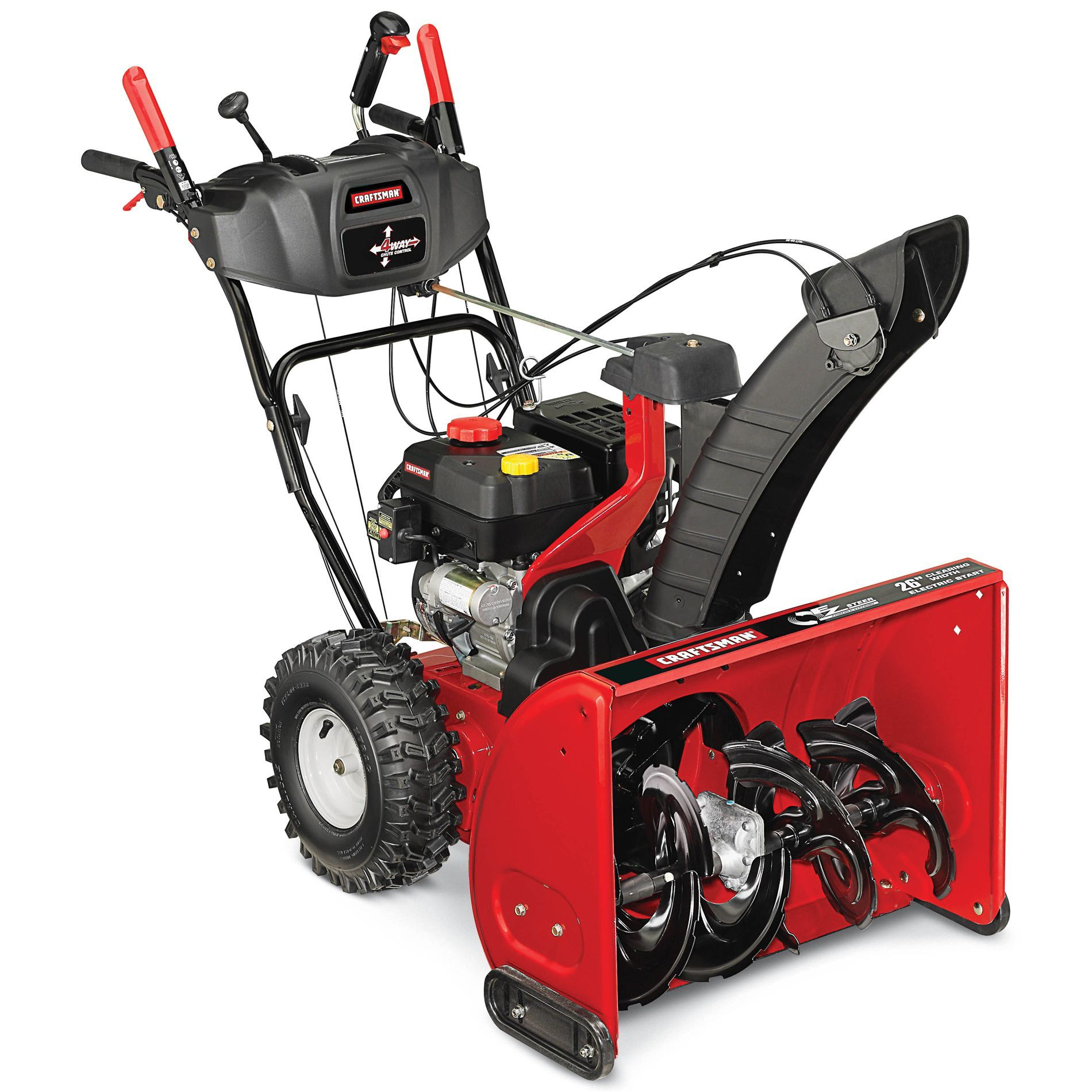 2014 Craftsman 26 In 208 Cc Model 88691 Two Stage Snow Blower Review Is This The Best Snow Blower For You Almo Snow Blower Snow Blowers Snow Removal Equipment