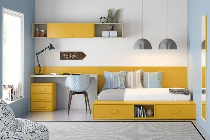 Compact Study Room Designs To Help Your Kids Study images
