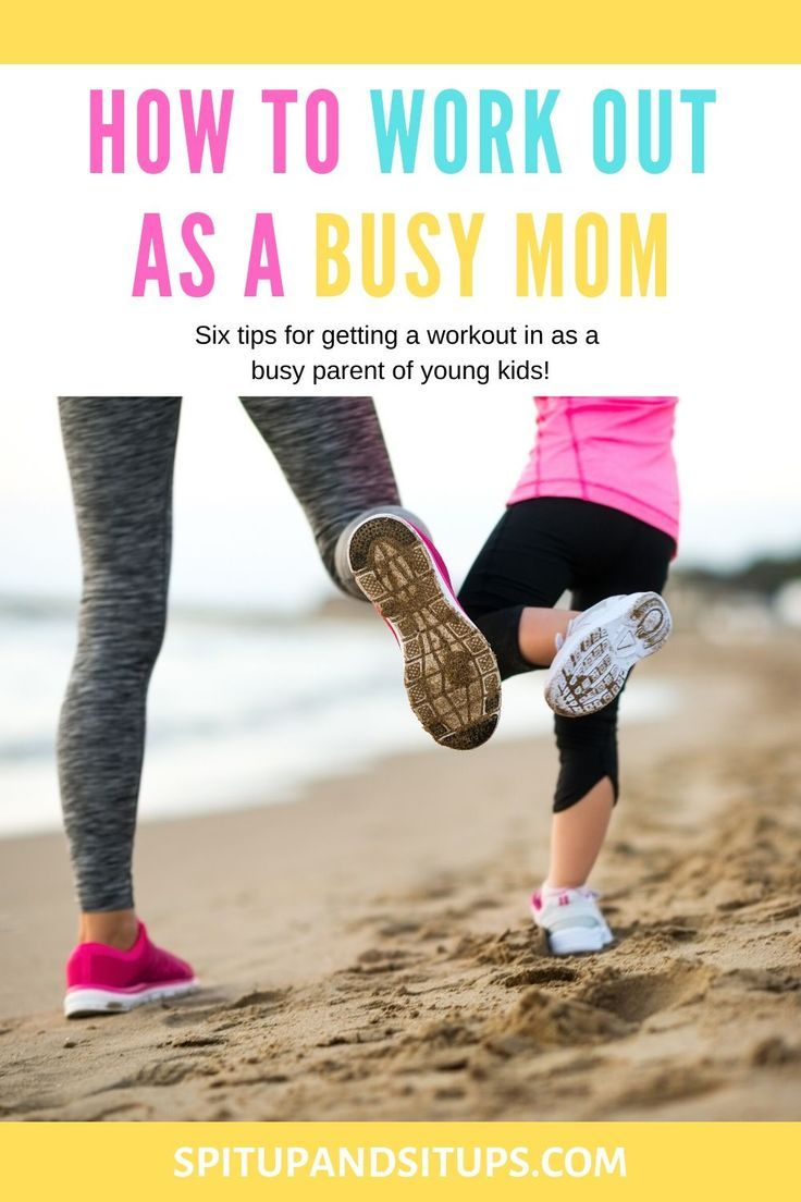 Want to start an exercise routine that works for you and your busy life? Here's how to work out as a...