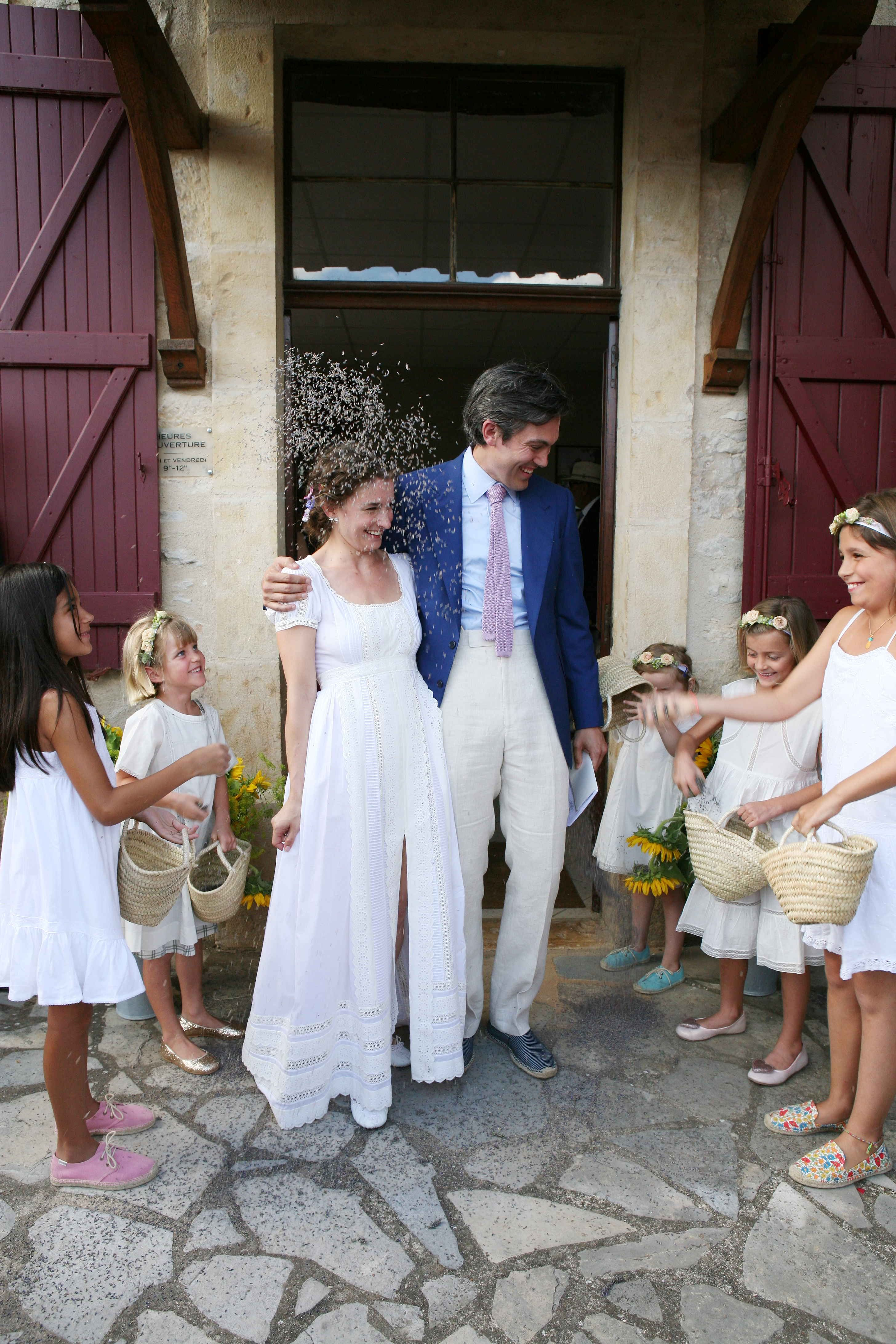 Social editor chloe malle and graham alberts wedding in wedding dress ombrellifo Images