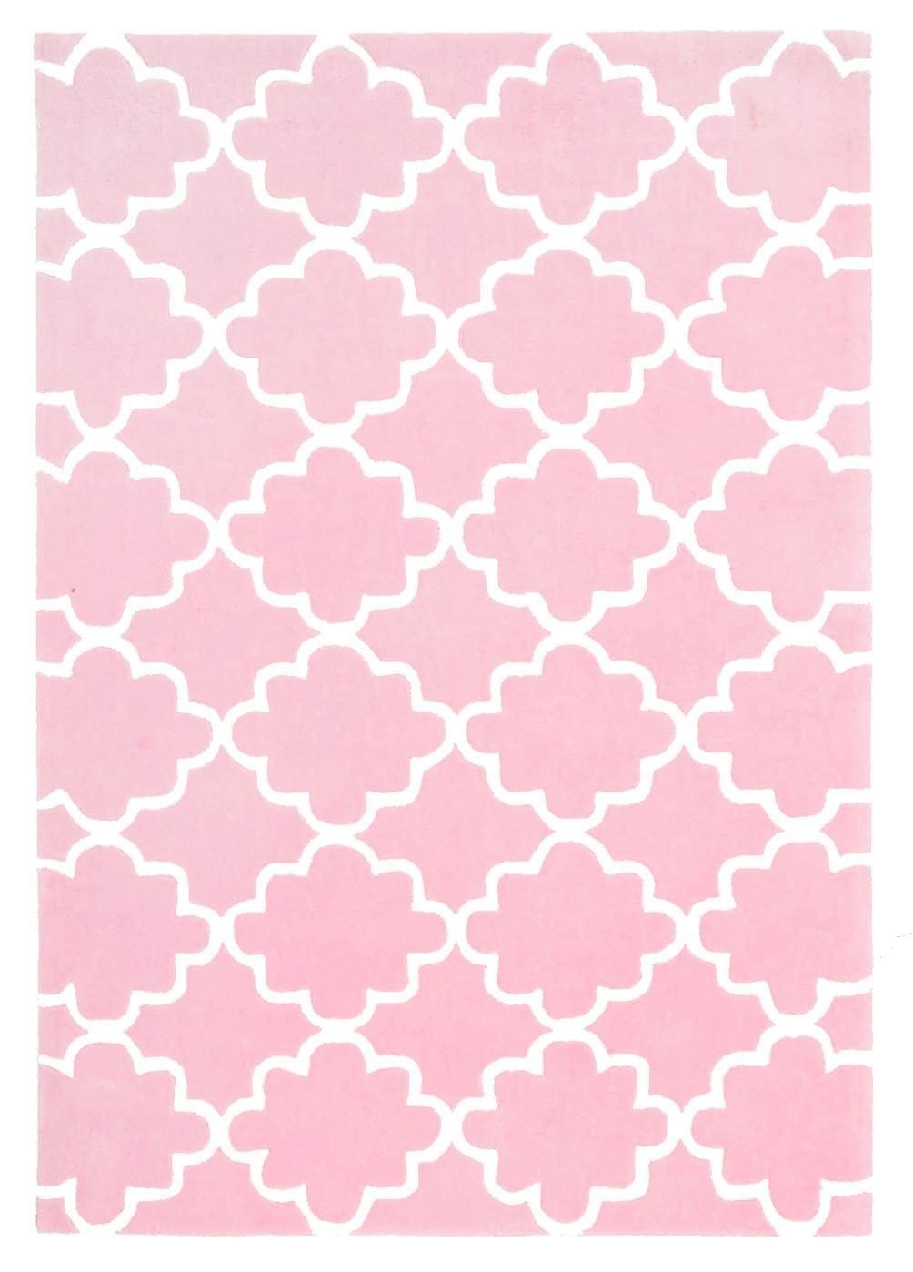 Pink Sienna & Eve Clouds Rug - Lines & Tigers - T&W Unbranded Events 2015