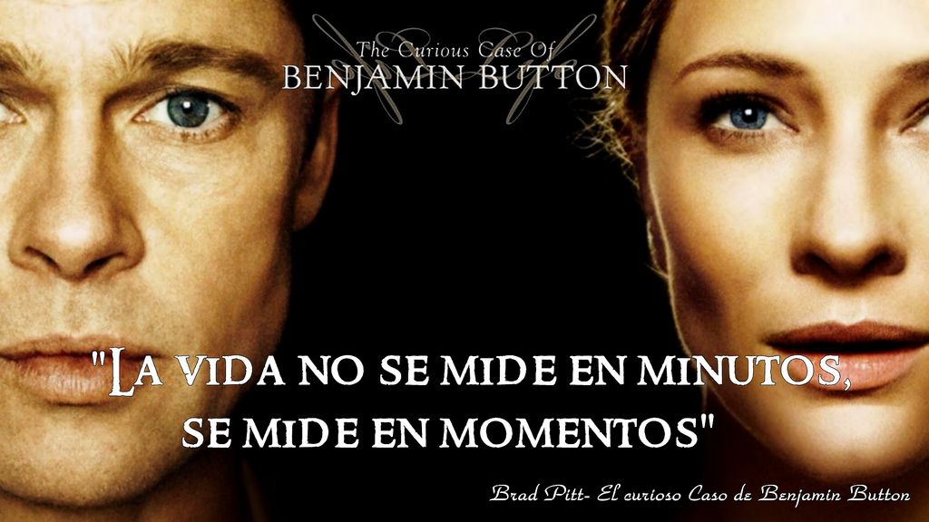 El Curioso Caso De Benjamin Button Movies Series Pinterest