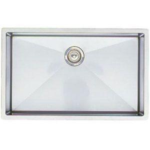 B513686 Precis Stainless Steel Undermount - Single Bowl Kitchen Sink - Stainless Steel