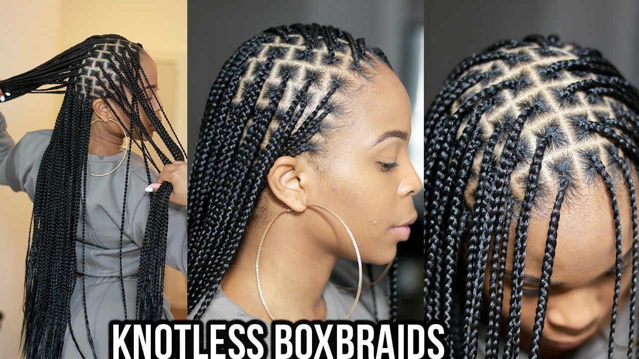 Watch Me Get Knotless Boxbraids Waistlength With Images