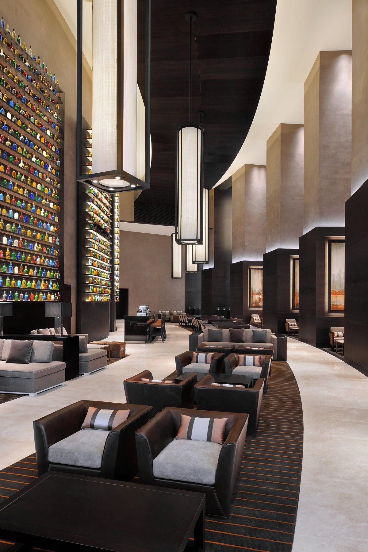 Hotel lobbies is blog with luxuious tast in a modern furniture come