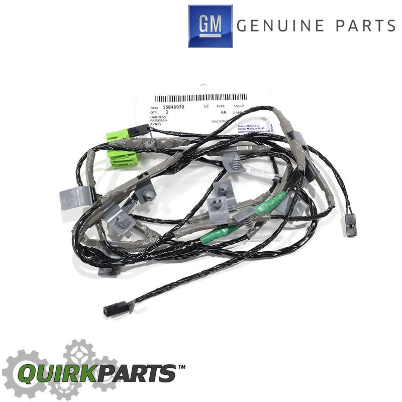 silverado wiring harness ebay details about oem new roof marker lamp light wiring harness 03 07  roof marker lamp light wiring harness
