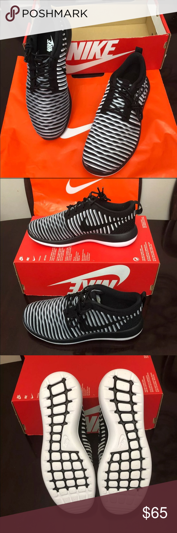 7de50e71bb185 Authentic WOMANS NIKE ROSHE TWO FLYKNIT BRAND NEW WOMANS NIKE ROSHE TWO  FLYKNIT IN ORIGINAL BOX but no cover 100% AUTHENTIC NEVER WORN Nike Shoes  Athletic ...