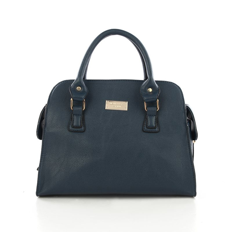 Michael Kors Smooth Outlook Large Blue Tote