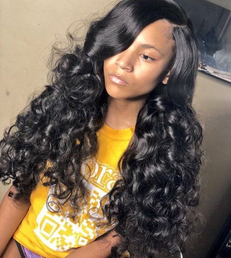 Follow icyygenie for more short curly weave