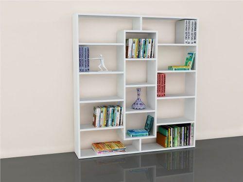 Biblioteca organizador melamina estante s 299 00 en - Organizadores hogar ...