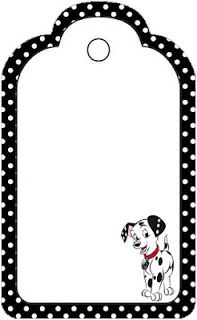 Dalmatians - Mini Kit with frames for invitations, labels for snacks, souvenirs and pictures! | Making Our Party