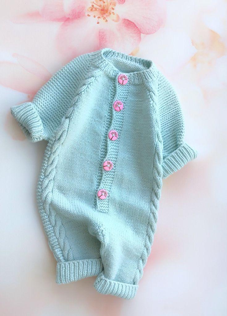 Photo of Wolle stricken Strampler Baby Mädchen Body Stricken Strampler Mädchen Baby stricken Overall B…