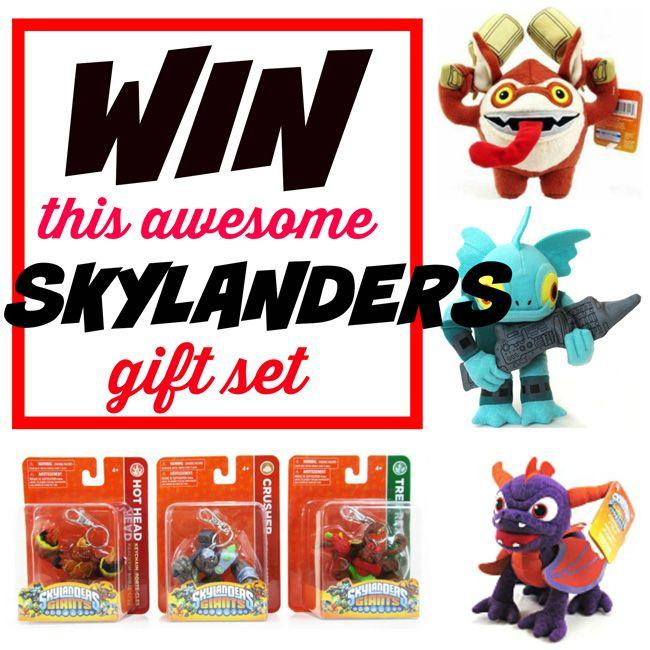 {#Giveaway} Skylanders 6-Piece Prize Pack. ENDS 12/11. US. via @wonderandco