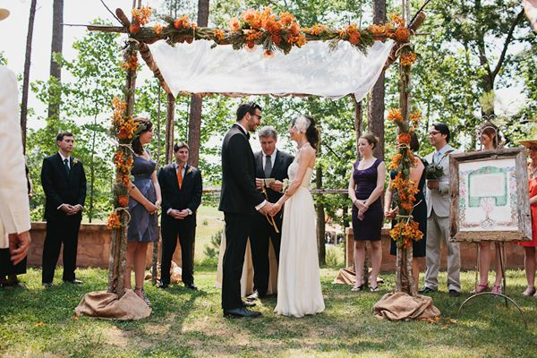 Some type of canopy to get married under (photo by Andrew Thomas Lee)
