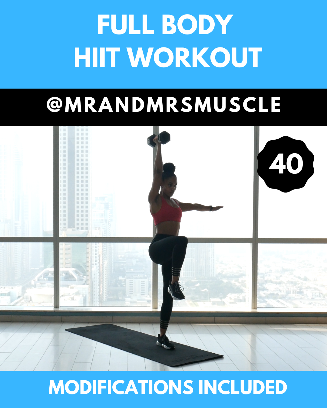 Photo of Full Body Blast HIIT Workout