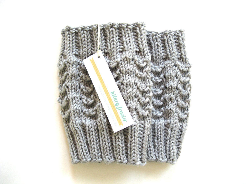 Knitted Boot Cuffs | knitting | Pinterest | Tejido, Sandalias y Damas