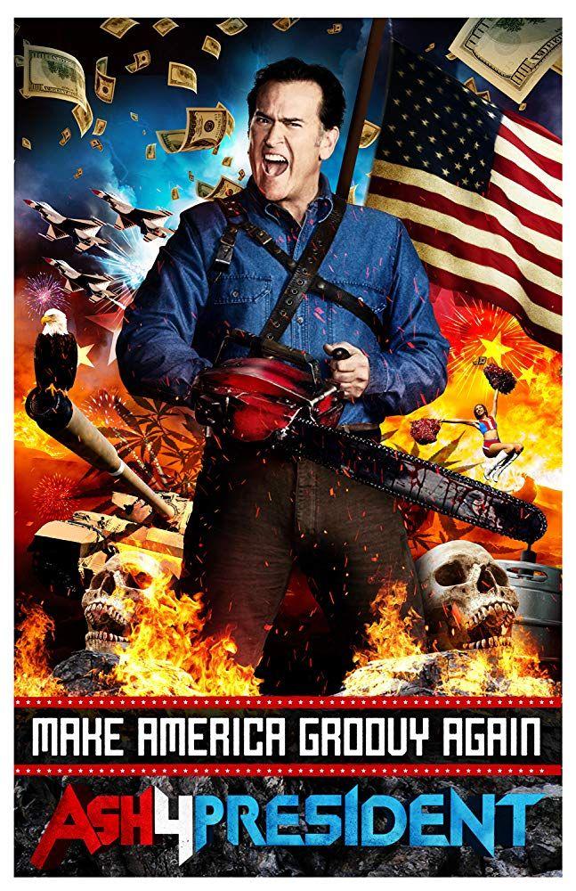Bruce Campbell in Ash vs Evil Dead (2015) horror in 2019