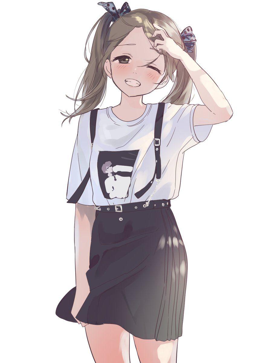 ボード「Beautiful fanart - Anime ⚈ ̫ ⚈」のピン