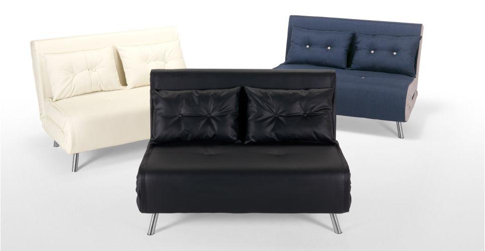 Haru Small Sofa bed in ibis cream Small sofa Room ideas and