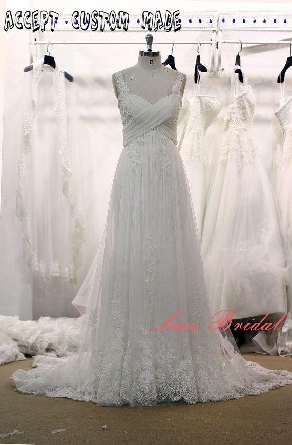 Soft Lace Style Bridal Gown Sleeveless Wedding Dress A Line Wedding Dress Elegant We Wedding Dresses Nz Wedding Dresses With Straps Court Train Wedding Dress
