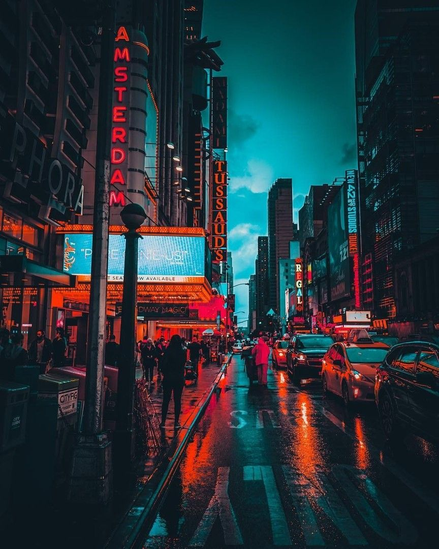 Night In The City City Aesthetic City Landscape City Photography