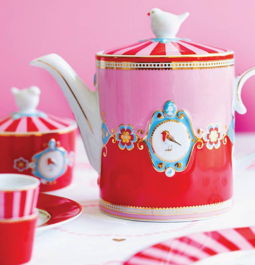 Love Birds Teapot With Images Tea