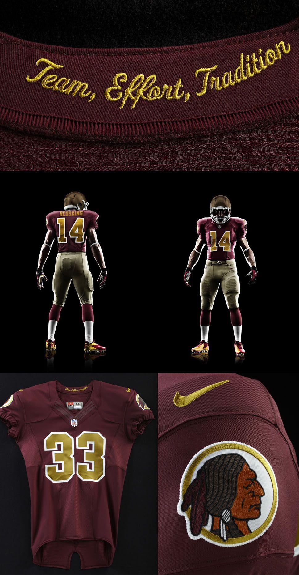 best service a1bbf 9482c Washington Redskins alternate Nike uniform | Sports Graphics ...