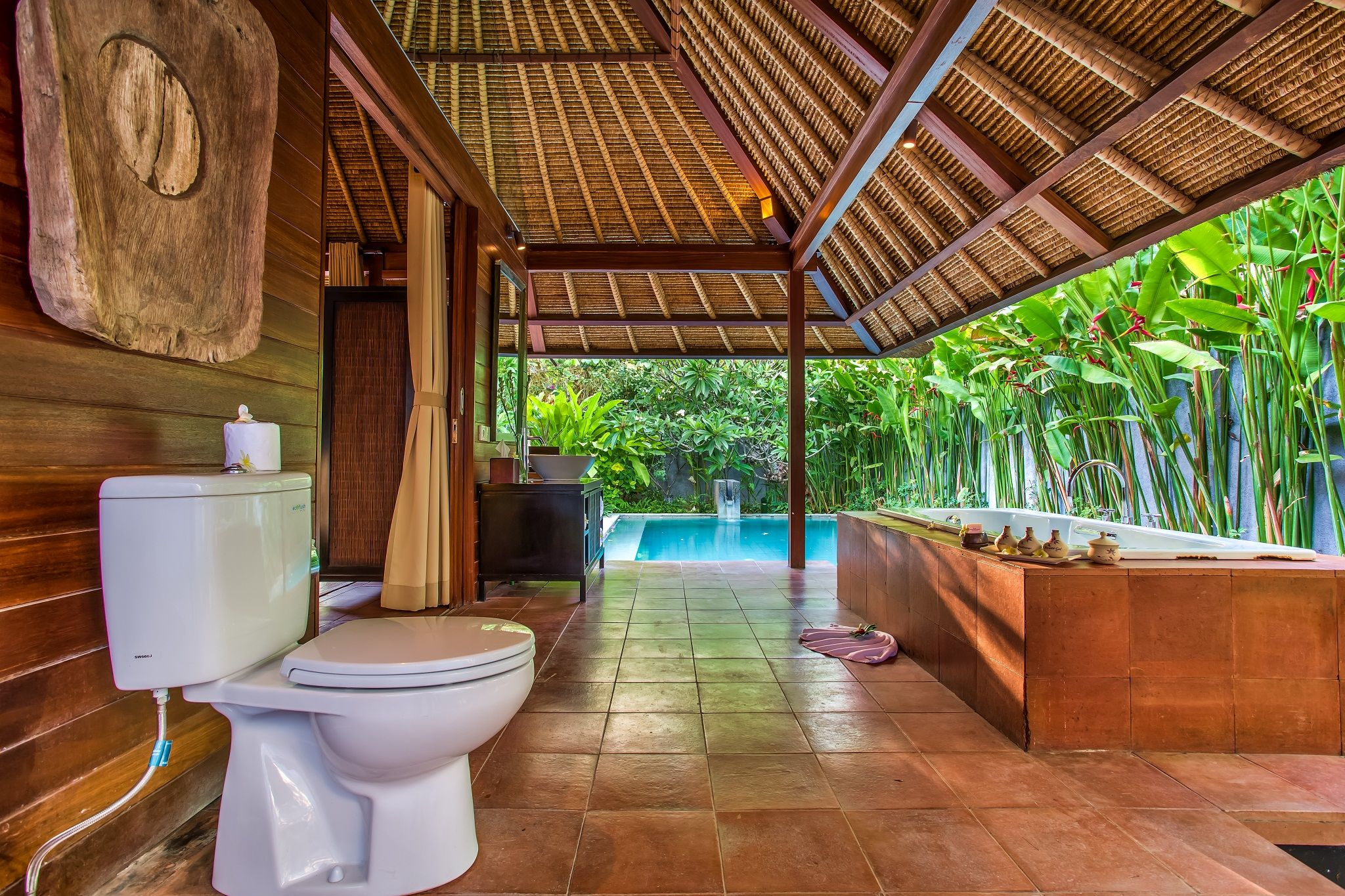 seminyak #openair #romance #romantic #love #beach #bathroom ...