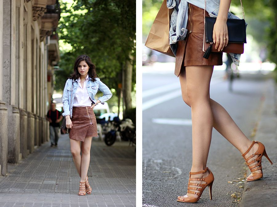 And the Unstable Weather | Ootd, Leather and Silk shirts