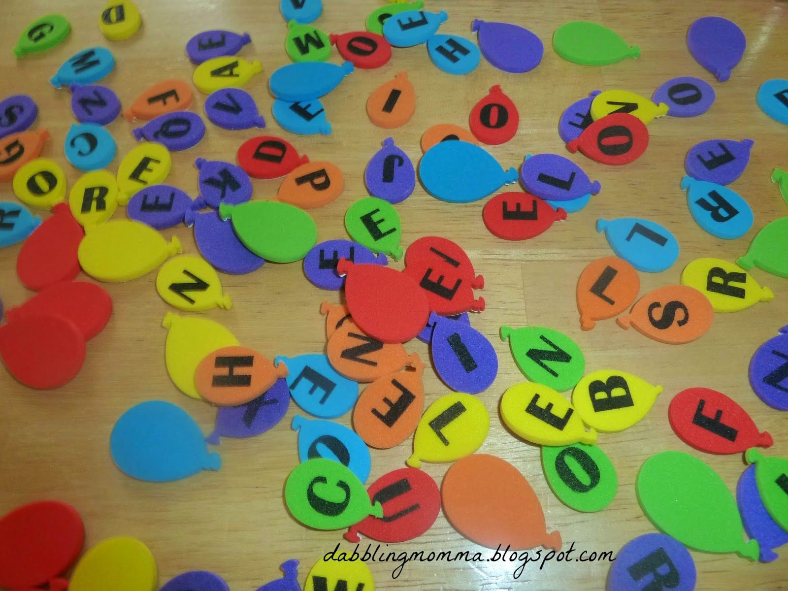 Learn How To Spell Your Child S Name Using Stickers