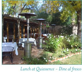 Quiessence At The Farm Outdoor Cafe Cool Places To Visit The Good Place