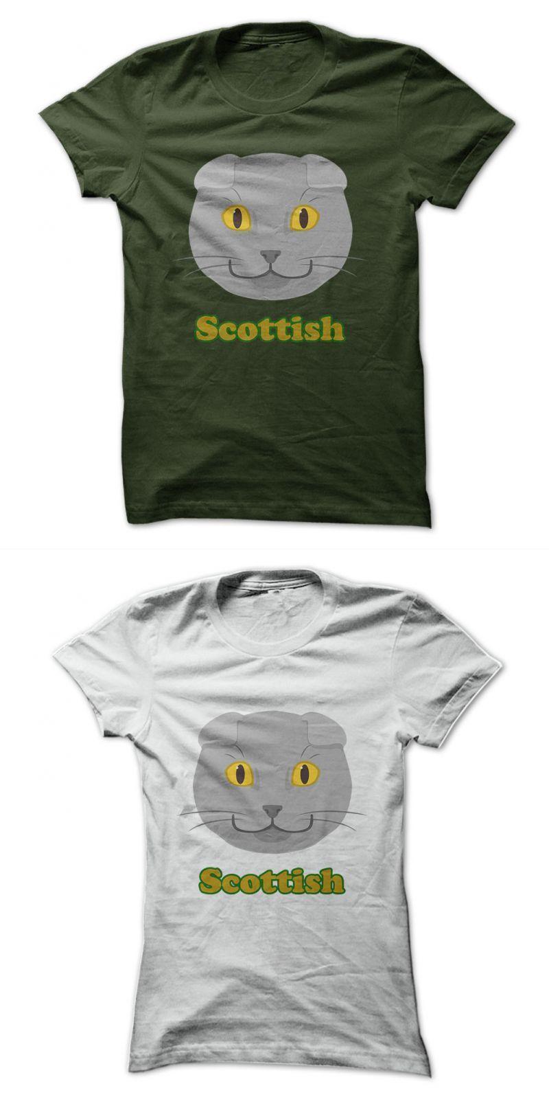 Scottish Fold Cat Cat Shirt From It cat logo t shirt