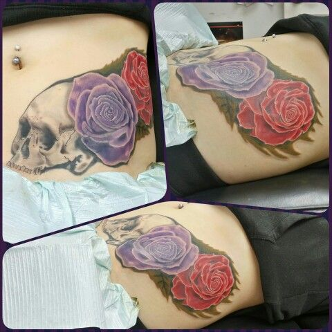 Finished cover up.
