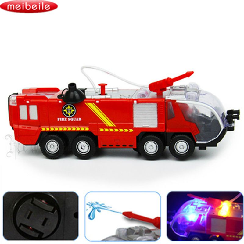 Toys & Hobbies Childrens Vehicles Toys Mini Fireman Toy Fire Truck Car Boy Educational Toy Christmas Birthday Gifts